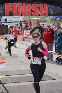 Peg's Cannon Falls finish
