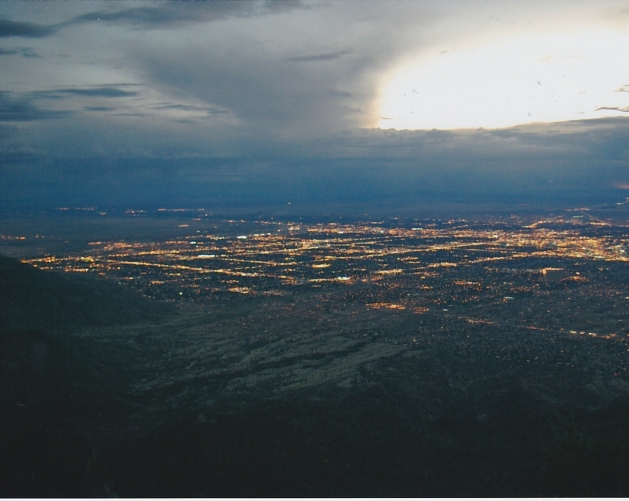 Albuquerque from Sandia Peak