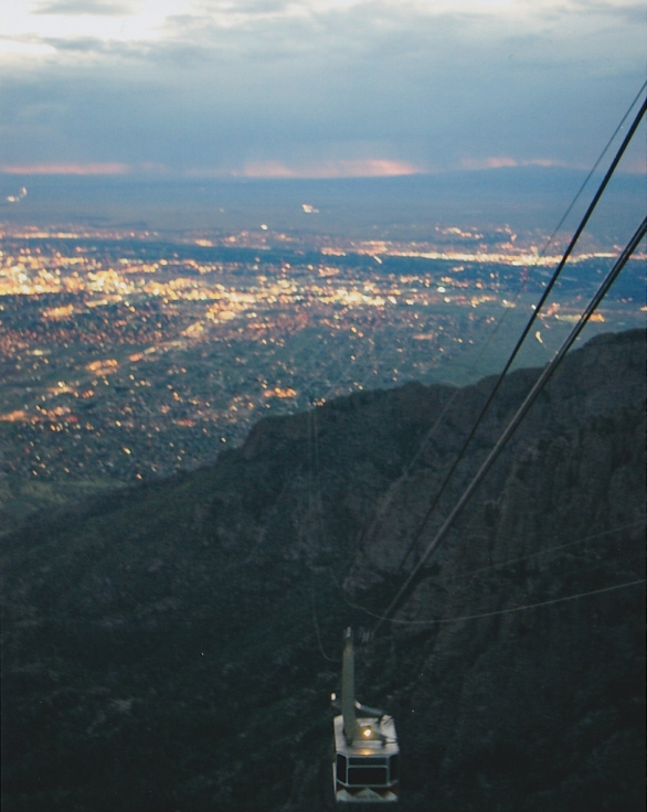 Albuquerque Tram to Sandia Peak