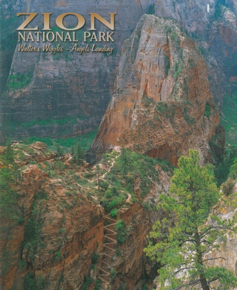 Angels' Landing Postcard