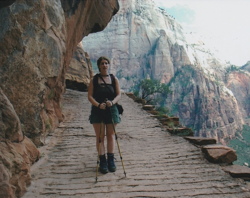 Angels' Landing route up