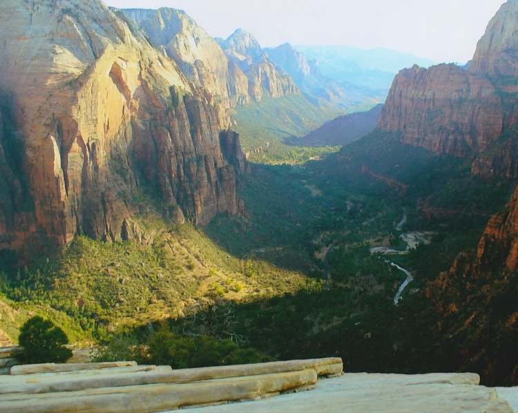 Angels' Landing Summit view 1