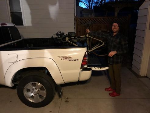 Graham loading truck