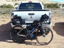 Dueling Adventures: Bikepacking in Utah vs. Staycation