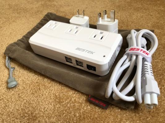 Outlet converter