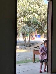 Shy niece