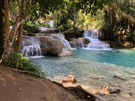 Laos Kuang Si Waterfalls (1)
