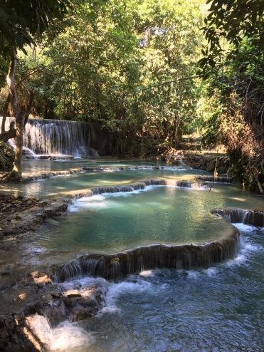 Laos Kuang Si Waterfalls