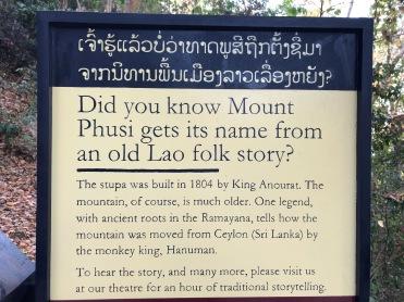 Laos Luang Prabang Mt Phousi (41)