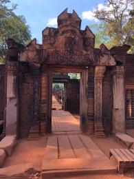 Cambodia Banteay Srei Wat (2)