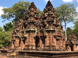Cambodia Banteay Srei Wat (22)