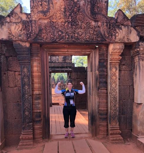 Cambodia Banteay Srei Wat (3)