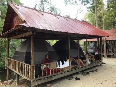 Cambodia Mt Kulen camping (4)