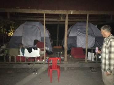 Cambodia Mt Kulen camping (5)