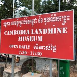Cambodia Siem Reap Landmine Museum (1)