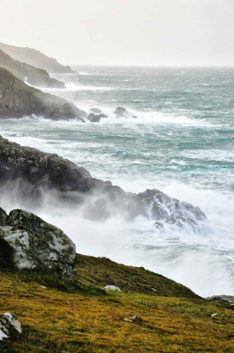 photo of cliff coast