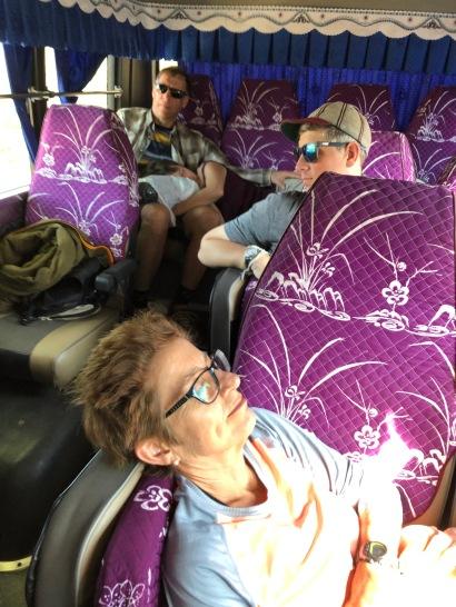 Travel minibus in Cambodia (2)