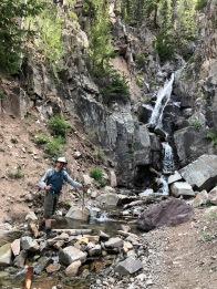 Colorado, Ouray, Upper Cascade Falls Chief Ouray Mine Hike (20)