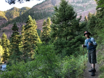 Colorado, Ouray, Upper Cascade Falls Chief Ouray Mine Hike (4)