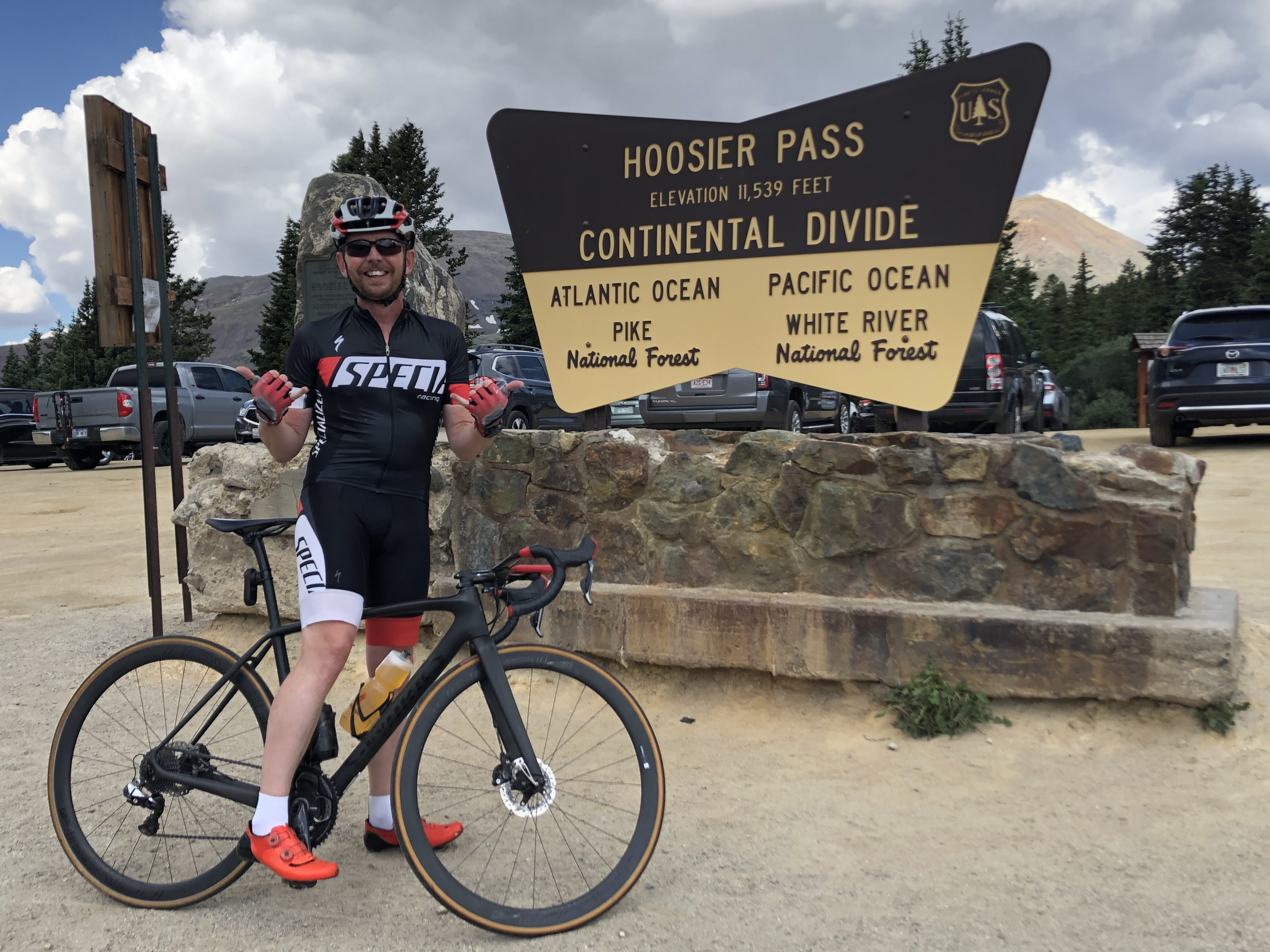 Colorado cycling Hoosier pass (1)