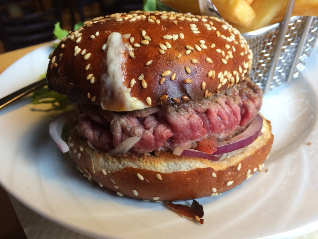 Lyon: rarest steak I have ever eaten